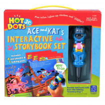 EI-2384 - Hot Dots Jr 4 Book & Pen Set in Hot Dots