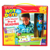 EI-2390 - Hot Dots Jr Lets Master Reading Gr Pk in Hot Dots