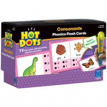 EI-2781 - Hot Dots Phonics Program Set 2 Consonants in Hot Dots