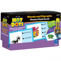 EI-2783 - Hot Dots Phonics Program Set 4 Blends & Digraphs in Hot Dots