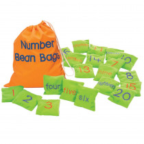EI-3047 - Number Bean Bags in Bean Bags & Tossing Activities