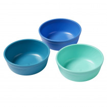 Bowls, Tropical, Set of 3 - ELR18100TRP | Ecr4kids, L.P. | Homemaking