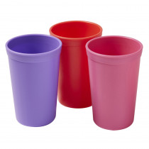 Tumblers, Berry, Set of 3 - ELR18102BE | Ecr4kids, L.P. | Homemaking