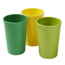 Tumblers, Citrus, Set of 3 - ELR18102CIT | Ecr4kids, L.P. | Homemaking