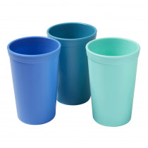 Tumblers, Tropical, Set of 3 - ELR18102TRP | Ecr4kids, L.P. | Homemaking