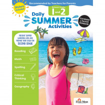 EMC1072 - Moving From 1St To 2Nd Grade Daily Summer Activities in Skill Builders