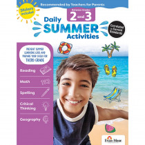 EMC1073 - Moving From 2Nd To 3Rd Grade Daily Summer Activities in Skill Builders