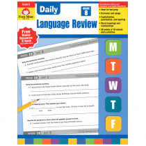 EMC2798 - Daily Language Review Gr 8 in Language Skills