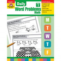 EMC3001 - Daily Word Problems Gr 1 in Word Skills