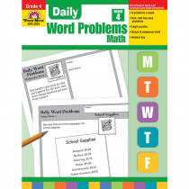 EMC3004 - Daily Word Problems Gr 4 in Word Skills
