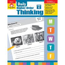 EMC3274 - Daily Higher Order Thinking Gr 4 in Books