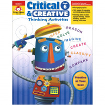 EMC3396 - Critical And Creative Thinking Activities Gr 6 in Games & Activities