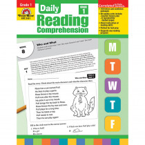 EMC3451 - Daily Reading Comprehension Gr 1 in Comprehension