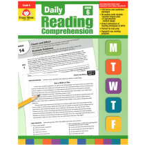 EMC3456 - Daily Reading Comprehension Gr 6 in Comprehension