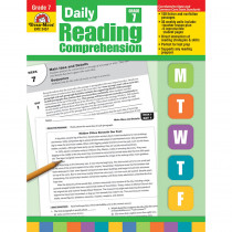 EMC3457 - Daily Reading Comprehension Gr 7 in Comprehension