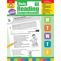EMC3611 - Daily Reading Comprehension Gr 1 in Comprehension