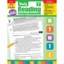 EMC3612 - Daily Reading Comprehension Gr 2 in Comprehension
