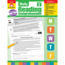 EMC3616 - Daily Reading Comprehension Gr 6 in Comprehension