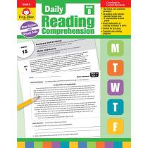 EMC3618 - Daily Reading Comprehension Gr 8 in Comprehension