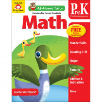 EMC4173 - Home Tutor Math Pre K Counting 1-20 in Math