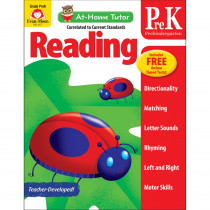 EMC4177 - Home Tutor Reading Pre K The Alphabet in Language Arts