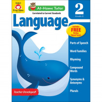 EMC4180 - Home Tutor Language Gr 2 Word Families in Language Arts