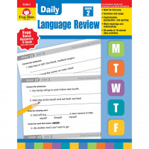 EMC580 - Daily Language Review Gr 2 in Language Skills