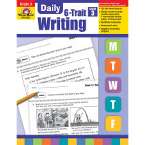 EMC6023 - Daily 6 Trait Writing Gr 3 in Writing Skills