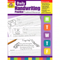 EMC790 - Daily Handwriting Trad. Manuscript in Handwriting Skills