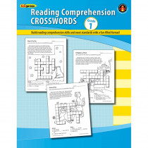EP-185R - Comprehension Crosswords Book Gr 1 in Comprehension