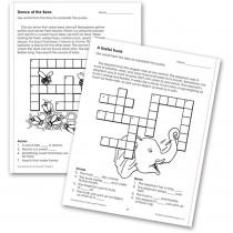 EP-186R - Comprehension Crosswords Book Gr 2 in Comprehension