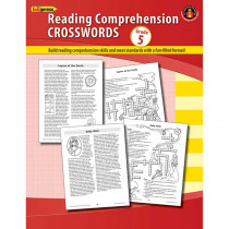 EP-189R - Comprehension Crosswords Book Gr 5 in Comprehension
