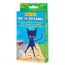 EP-2074 - Pete The Cat On The Go Games in Card Games