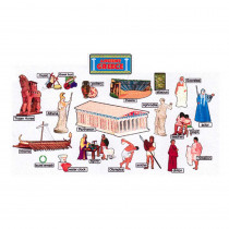 EP-2232 - Ancient Greece Bulletin Board Set in Social Studies