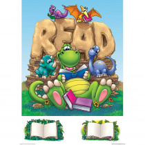 EP-2246 - Dinomite Readers Bulletin Board Set in Language Arts