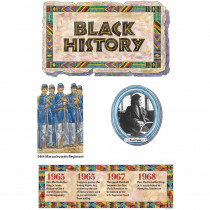 EP-2254 - Black History Bulletin Board Set in Social Studies