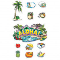 EP-2265 - Aloha Welcome Bulletin Board Set in Social Studies
