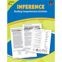 EP-2361 - Inference Comprehension Book Blue Level in Comprehension
