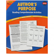 EP-2373 - Authors Purpose Book Blue Level in Leveled Readers