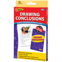EP-2988 - Drawing Conclusions Ylw Lvl Reading Comprehension Practice Cards in Comprehension