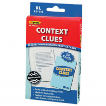 EP-3072 - Context Clues - 3.5-5.0 in Comprehension