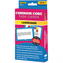 EP-3342 - Common Core Task Cards Lang Gr 1 in Language Skills