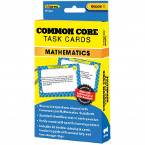 EP-3344 - Common Core Math Task Cards Gr 1 in Math