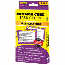 EP-3347 - Common Core Math Task Cards Gr 4 in Math