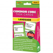 EP-3351 - Gr 3 Common Core Language Task Cards in Language Arts
