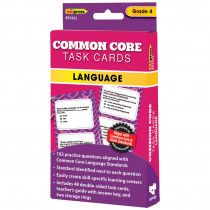 EP-3352 - Gr 4 Common Core Language Task Cards in Language Arts