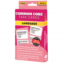 EP-3354 - Gr 6 Common Core Language Task Cards in Language Arts