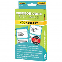 EP-3358 - Gr 5 Common Core Vocabulary Task Cards in Vocabulary Skills