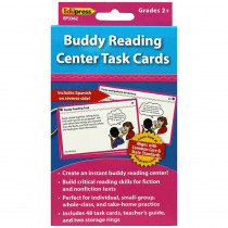 EP-3362 - Buddy Reading Center Task Cards Gr 2 And Up in Reading Skills