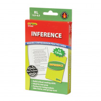EP-3400 - Inference Practice Cards Reading Levels 5.0-6.5 in Comprehension
